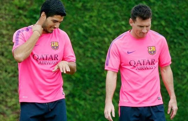 Poker Online : Wenger: Messi Buat Adaptasi Suarez Lamban