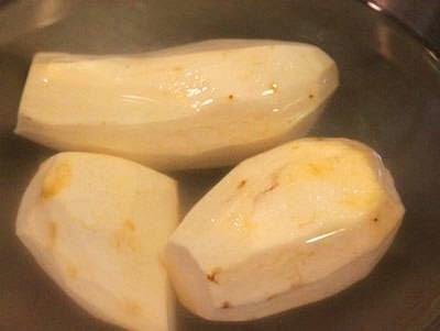 (Chè Nếp Cẩm và Khoai Sọ) - Cẩm Sticky Rice Sweet Soup with Taro