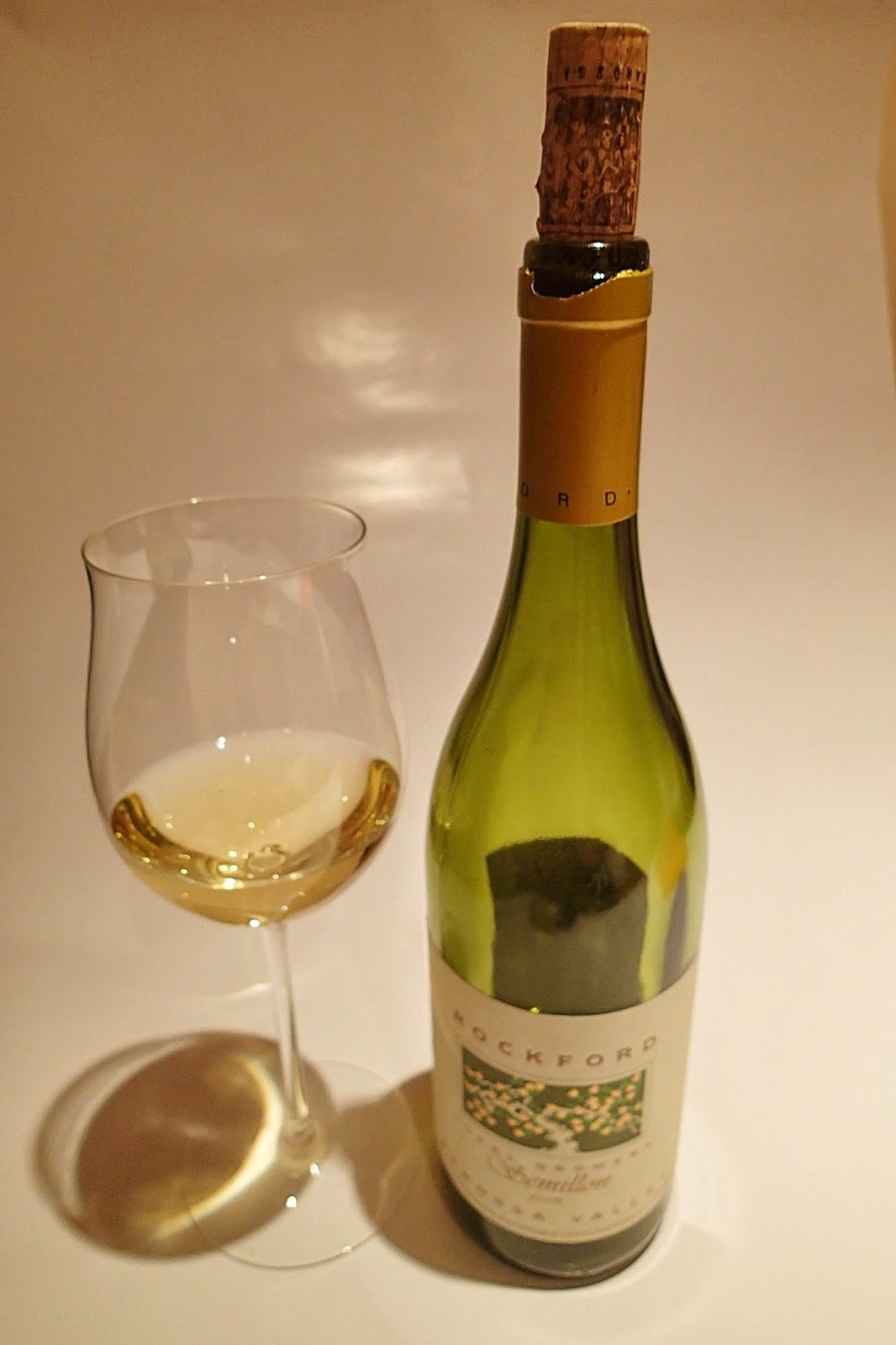 Rockford Local Growers Semillon 2006 Wine Tasting Review
