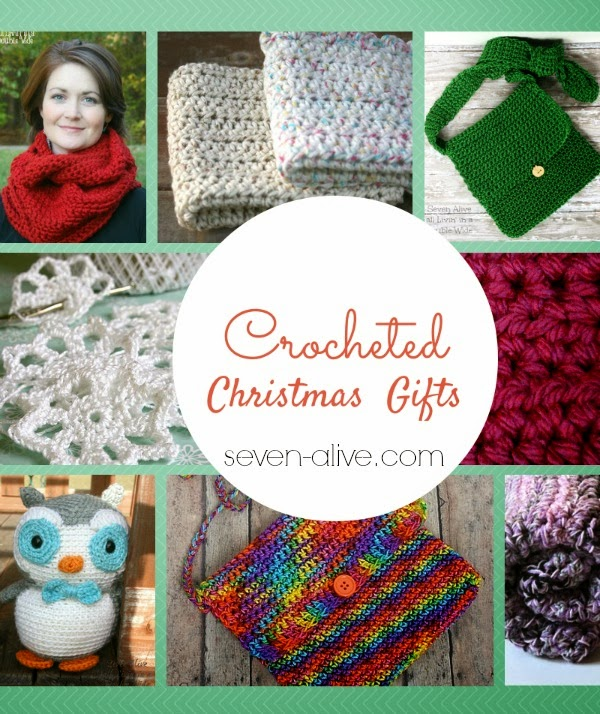 Free Crochet Patterns For Xmas Gifts : Quick Crocheted Christmas Gifts - Seven Alive
