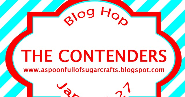 so many stamps so little time  the contenders blog hop