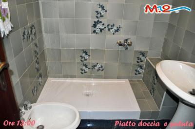 Da vasca con muretto a doccia  M.2 Trasformazione vasca in doccia e sistema Vasca nella Vasca