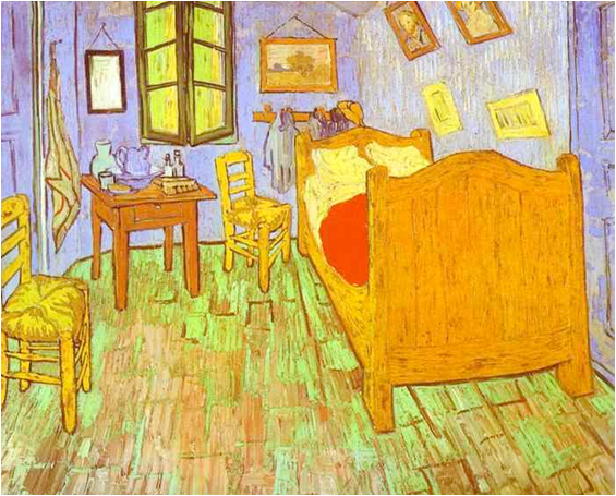 vincent van gogh the artist 39 s bedroom in arles sept 1889