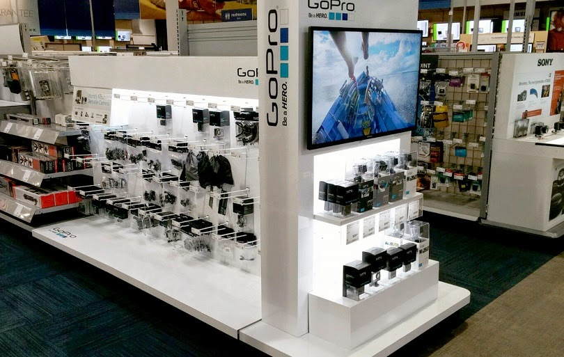 Câmera GoPro Hero em Miami e Orlando