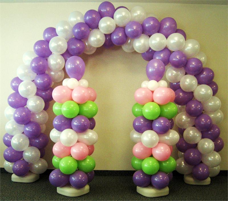 Balloon designs pictures balloon arch kit for Balloon arch decoration kit