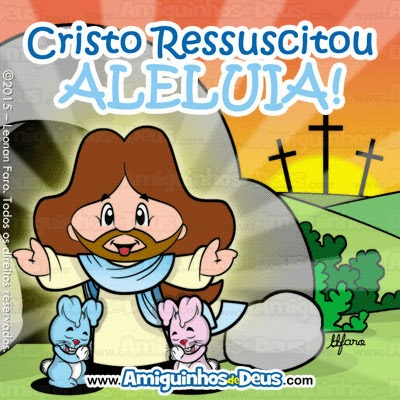jesus ressuscitado desenho