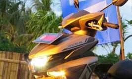 lampu depan Yamaha New Soul GT 125
