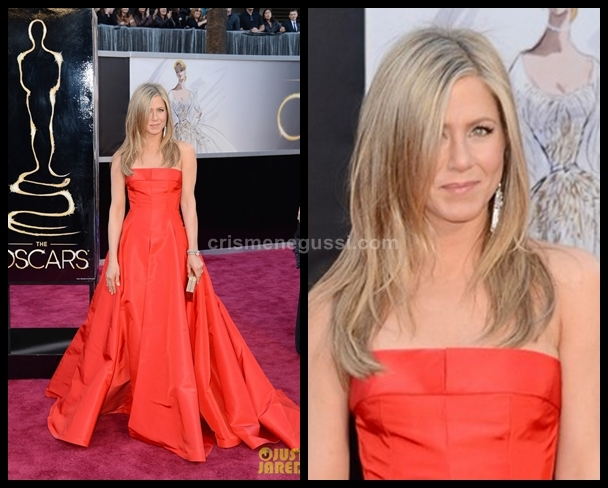 Vestido da Jennifer Aniston no Oscar 2013