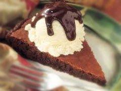 Super Easy Brownie Pie