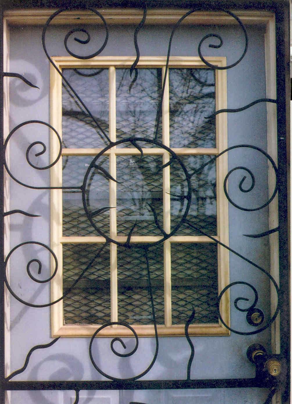 Window grill design sample 01