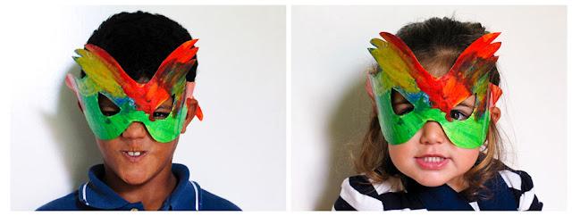 Máscaras: foto: Pablo Basagoiti