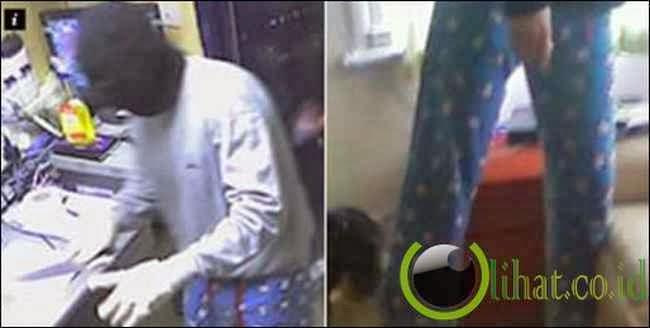 Selfie Dengan Piyama Buat Pencuri InI Tertangkap