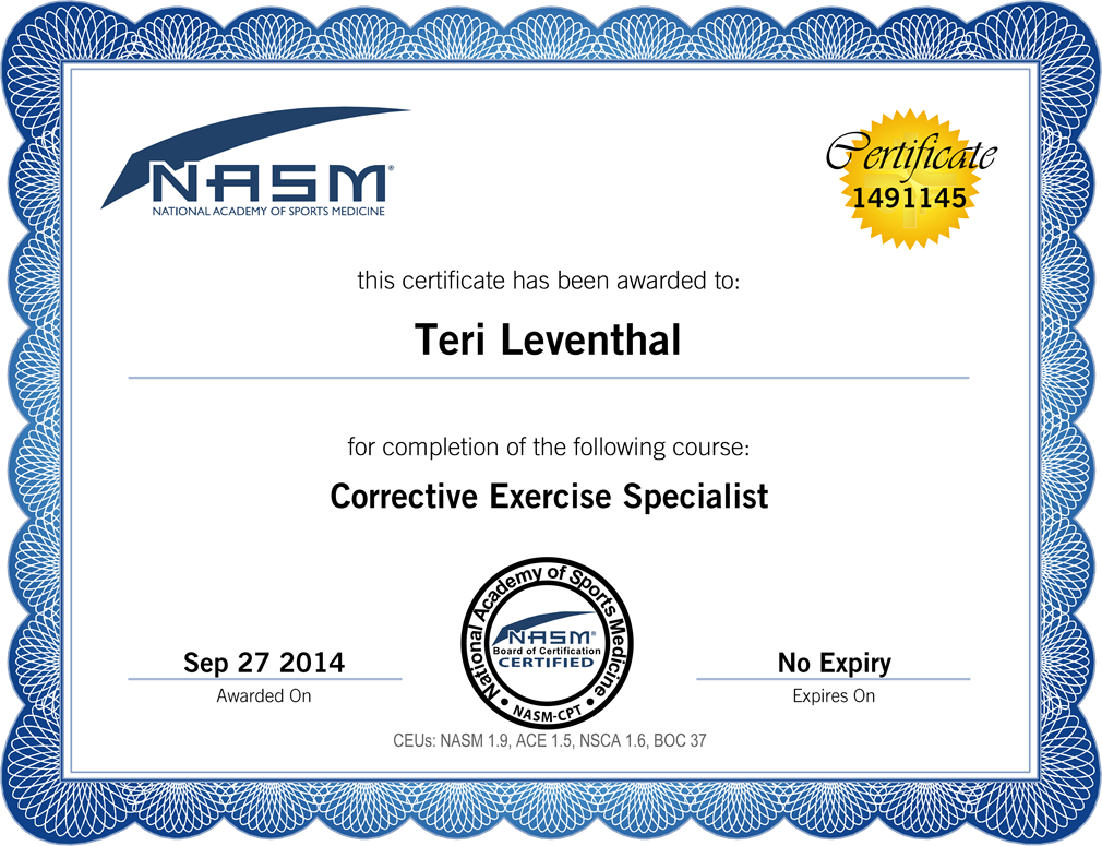 Personal trainer certificate template search results for Personal training certificate template