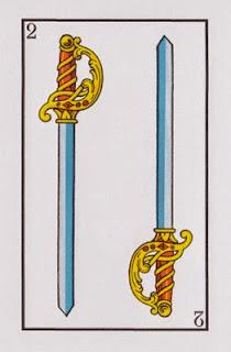 dos de espadas baraja española