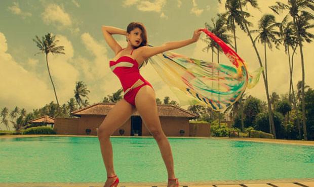 Nadeesha Hemamali Hot Bikini PhotoShoot Stills