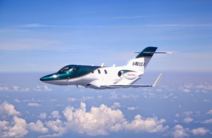 Honda Jet completed the first flight