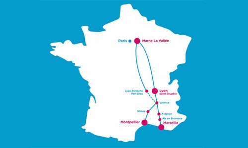 carte+france+ouigo+TGV