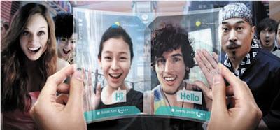 Nueva pantalla flexible de Samsung