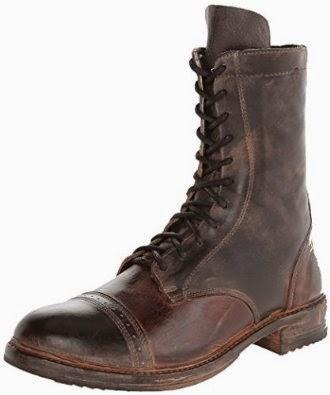 Bed Stu Men's Declaration Combat Boot Shoes