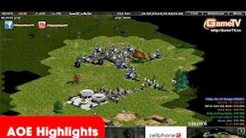 AOE Highlights - No.1 cực tạ nhưng team aoe GameTV vẫn gánh cực hay. 19