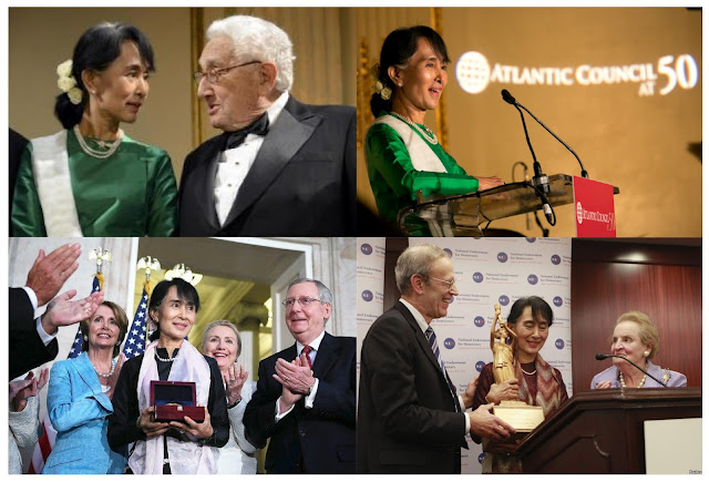 The Queen of Corporate Fascist Faux Democracy Suu Kyi 2012 Dupe Awards 1