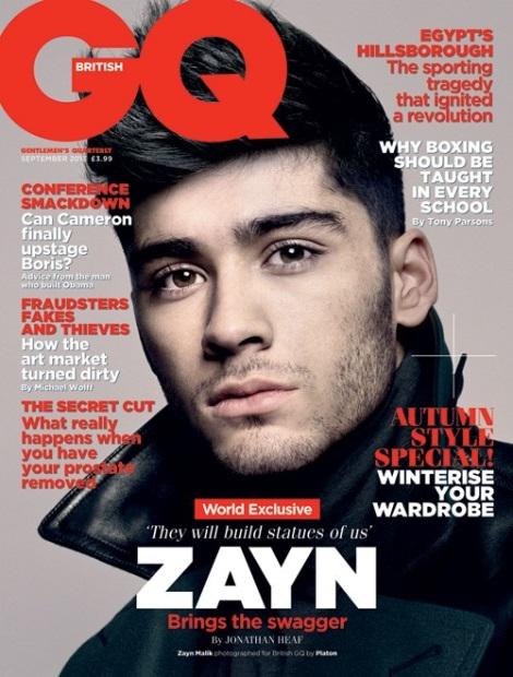 Zayn GQ Cover