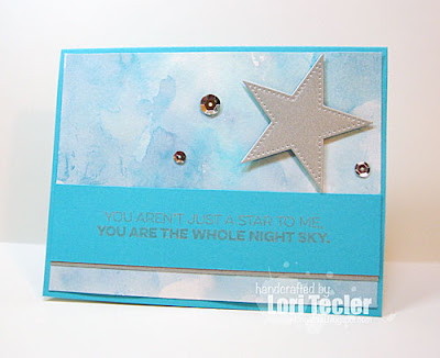 The Whole Night Sky card-designed by Lori Tecler/Inking Aloud-stamps and dies from My Favorite Things