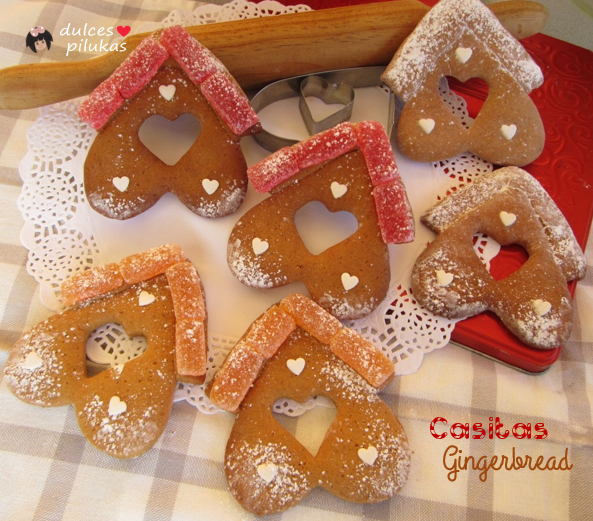galletas casitas gingerbread
