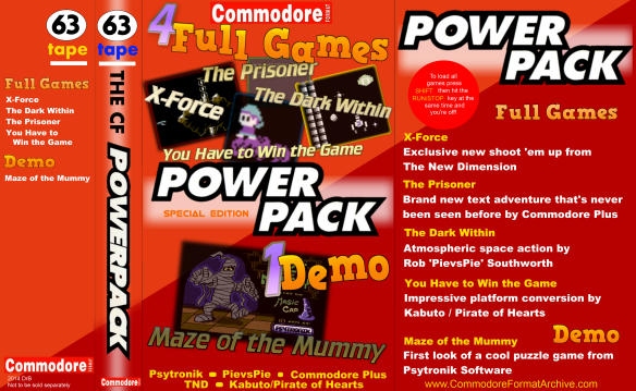 Commodore Format Power Pack