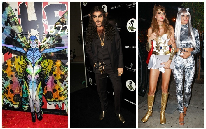 Celebrities Halloween Style 2014