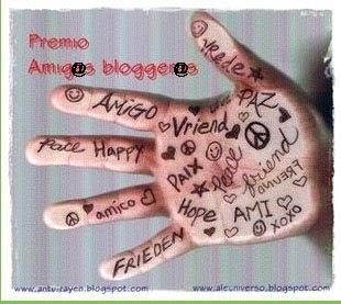 """Premi """" Amigos Blogueros"""""""
