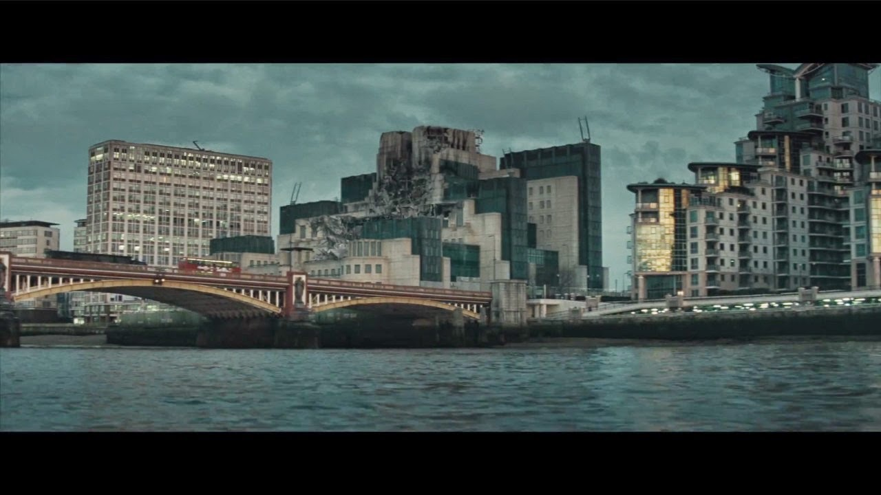 THE FINE ART DINER: Bond's Secret: Spectre Trailer #1 ...