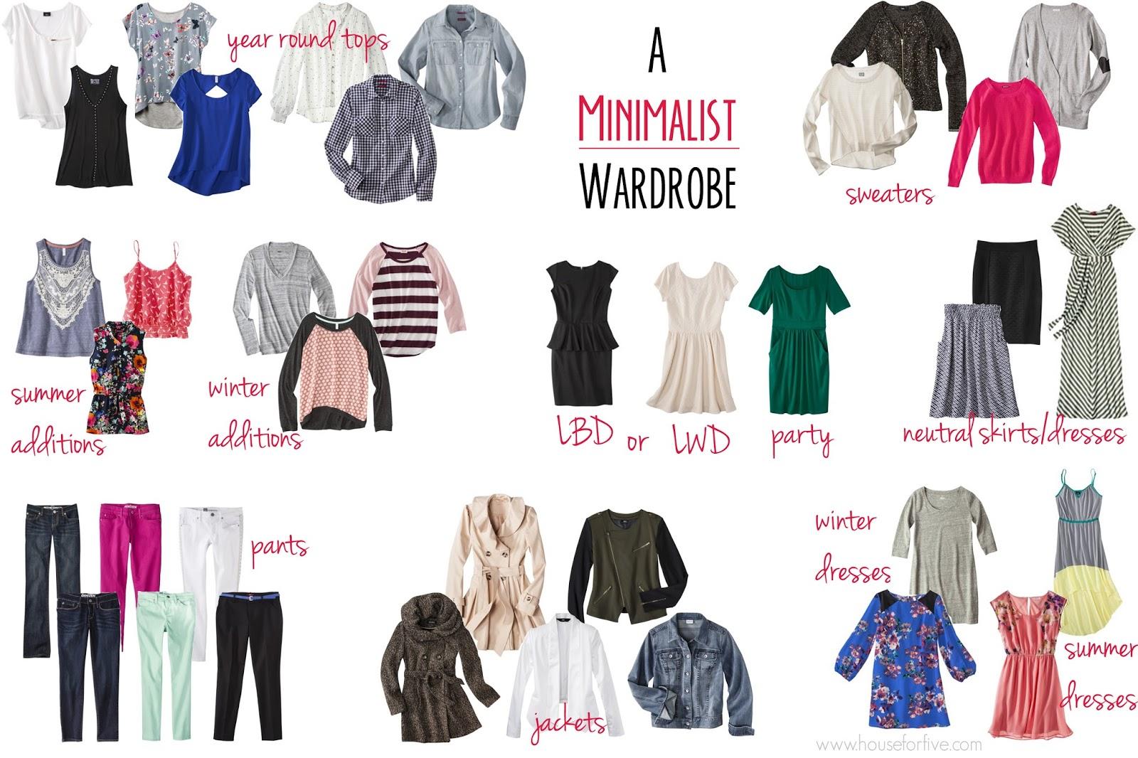 Wardrobe a minimalist wardrobe for Minimalist living 100 things list