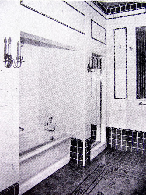 Vintage Tile Bathroom from the 1920's, from Studio, Garden and Bungalow