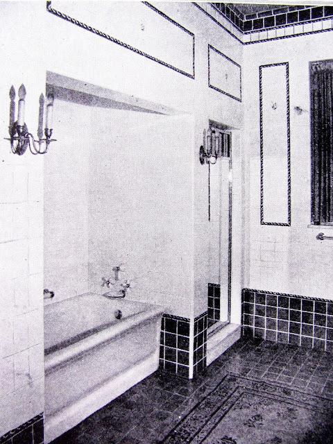 studio garden bungalow 1920s vintage bathroom styles