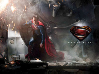 Wallpaper Man of Steel for BlackBerry