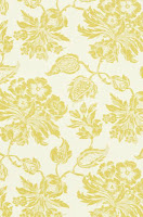 Floral Wallpaper T4101 Lemon