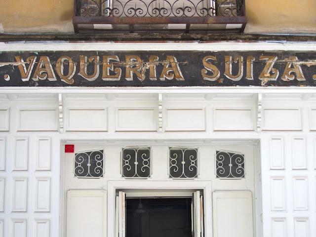 entrance to La Vaqueria Suiza