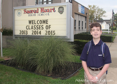 Sacred Heart High School - Luke's First Day