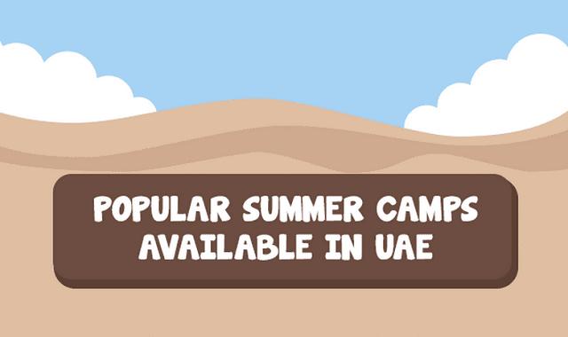 Popular Summer Camps in UAE