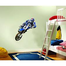 Motocross Bedroom Decoration Ideas