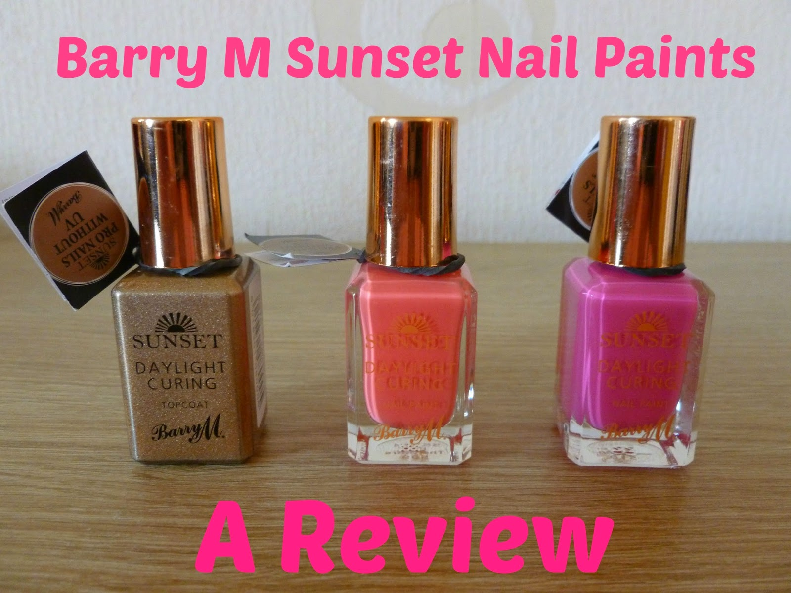 Barry m Sunset Nail Paints
