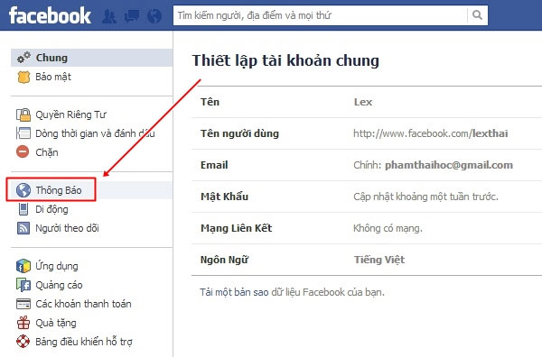 Hướng dẫn tắt âm thanh của thông báo trên Facebook