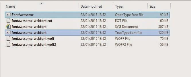 Cara Install Font Baru di Komputer Sistem Operasi Windows