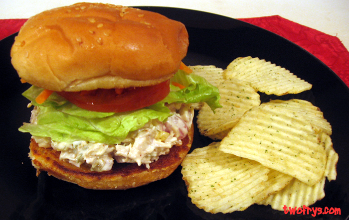 turkey salad sandwich so yummy i brought turkey home from my mom s ...