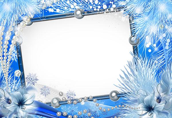 Winter Tenderness Frames for Photoshop 03