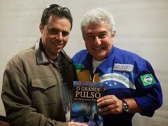 Com o astronauta Macos Pontes