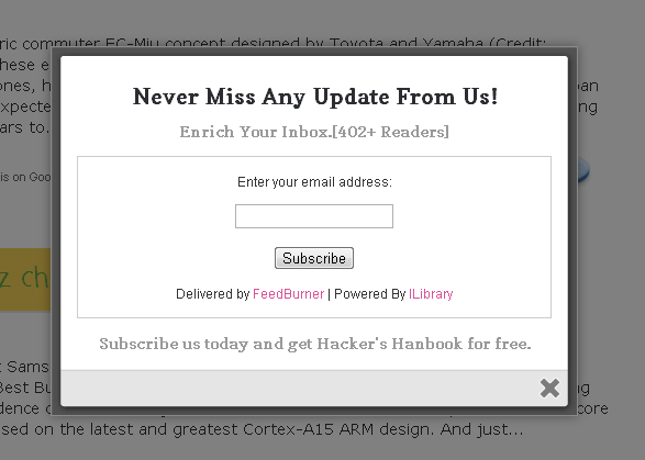 how to create popup in html with css