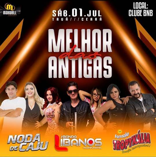 Show no Clube BNB em Tauá