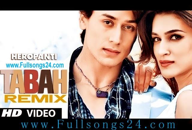 heropanti full movie songs download